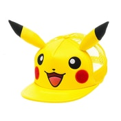 Pokemon Pikachu Face with Ears Trucker Snapback Baseball Cap