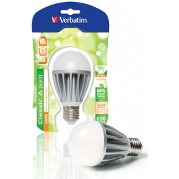 Verbatim 10w Edison Screw LED GLS Warm White