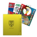 Panini Heritage FIFA World Cup Football Sticker Collection Lithographic Prints - Limited Edition