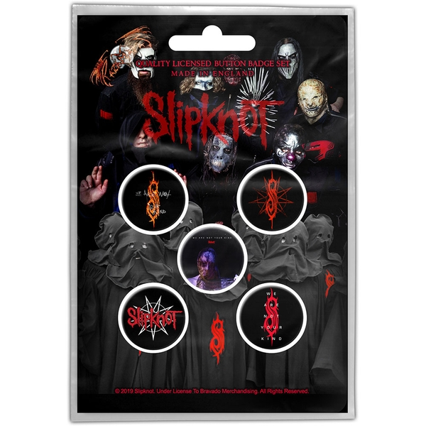 Slipknot - We Are Not Your Kind Button Badge Pack