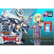 Cardfight Vanguard TCG Divine Swordsman of the Shiny Star G-TD02 Trial Deck