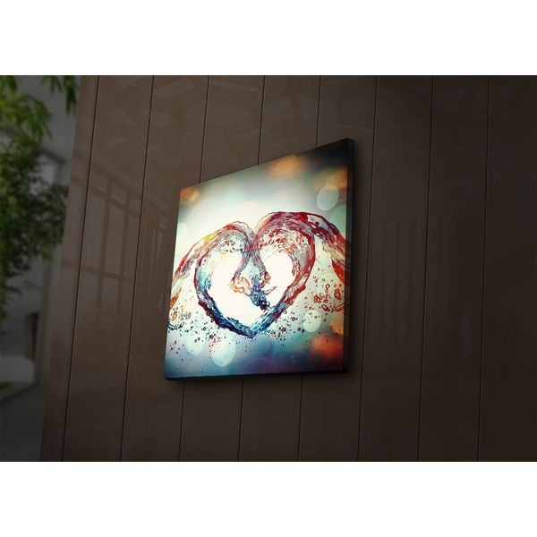 4040?ACT-50 Multicolor Decorative Led Lighted Canvas Painting