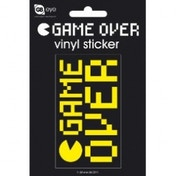 Game Over Vinyl Sticker