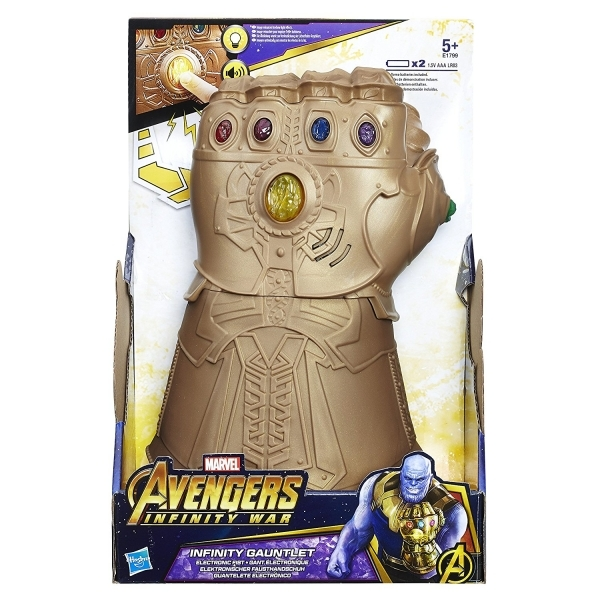 Ex-Display Marvel Avengers Infinity War Gauntlet Electronic Fist Used - Like New