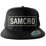 Sons Of Anarchy SAMCRO Embroidered Snapback Cap