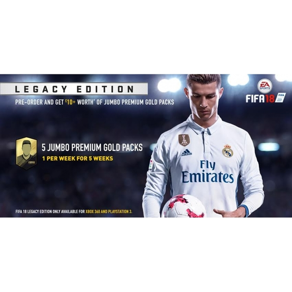FIFA 18 Legacy Edition PS3 Game - Image 2