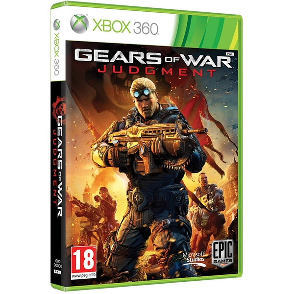 Gears Of War Judgment Game Xbox 360 [Used]