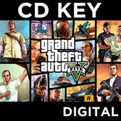 Grand Theft Auto GTA V (Five 5) with $1m currency bonus PC CD Key Download for RGSC