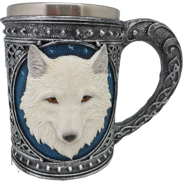 Ghost Wolf Tankard Large