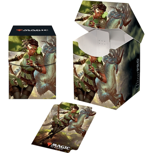 Ultra Pro Magic The Gathering: Ikoria Vivien, Monsters' Advocate PRO 100+ Deckbox