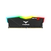 Team DELTA RGB 8GB Black Heatsink with RGB LEDs (1 x 8GB) DDR4 2666MHz DIMM System Memory