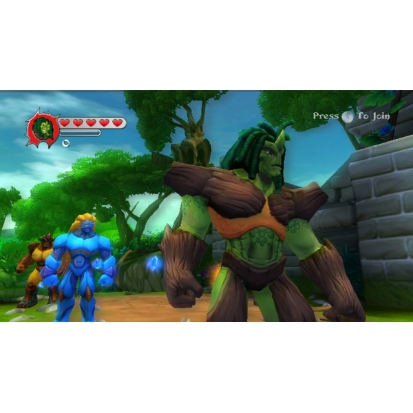 Gormiti The Lords of Nature! Game and Figure Wii - Image 4