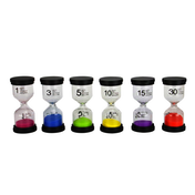 Set of 6 Sand Timers | M&W