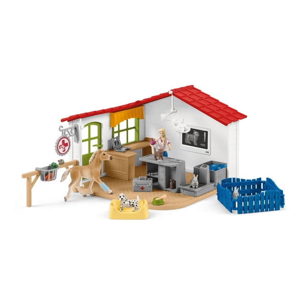Schleich - Farm World Veterinarian Practice with Pets