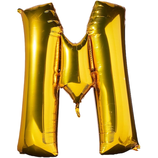 M Shaped Foil Balloon