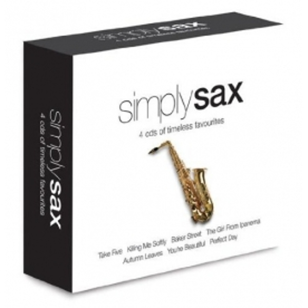 Simply Sax 4CD
