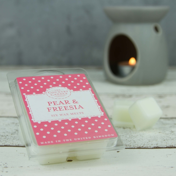 Pear & Freesia (Polka Dot Collection) Wax Melt - Image 1