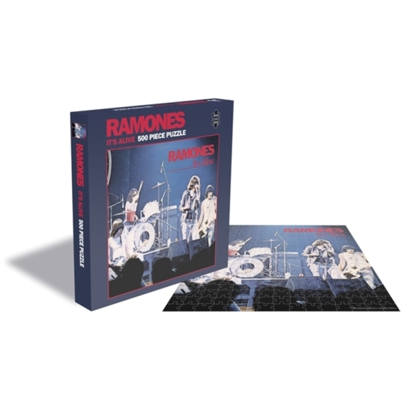 Ramones - Its Alive Jigsaw Puzzle (500 Piece)