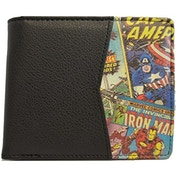 Marvel Retro Comic Outside Print Wallet