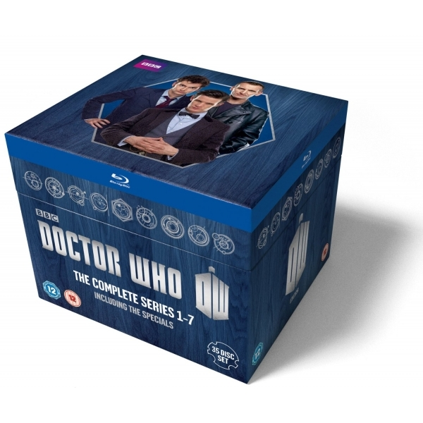 Doctor Who The Complete Box Set Series 1-7 Blu-ray