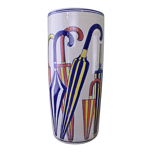 Umbrella Stand, Striped Umbrellas Design