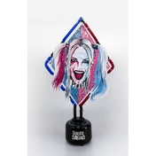 Ex-Display DC Suicide Squad Red and Blue Harley Quin Neon Table Light UK Plug Used - Like New