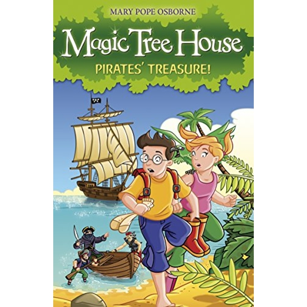 Magic Tree House 4: Pirates' Treasure! by Mary Pope Osborne (Paperback, 2008)
