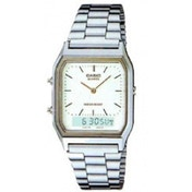 Casio Mens Silver Classic Combi Watch