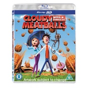 Cloudy with a Chance of Meatballs Blu-ray 3D