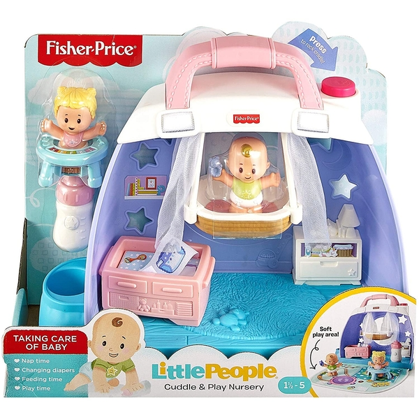 Fisher-Price Little People Baby Cuddle n Play Nursery