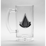 Assassins Creed Logo Glass Stein