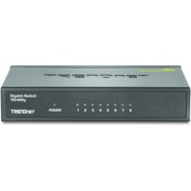 Trendnet 8-Port Gigabit GREENnet Switch /w metal case UK Plug