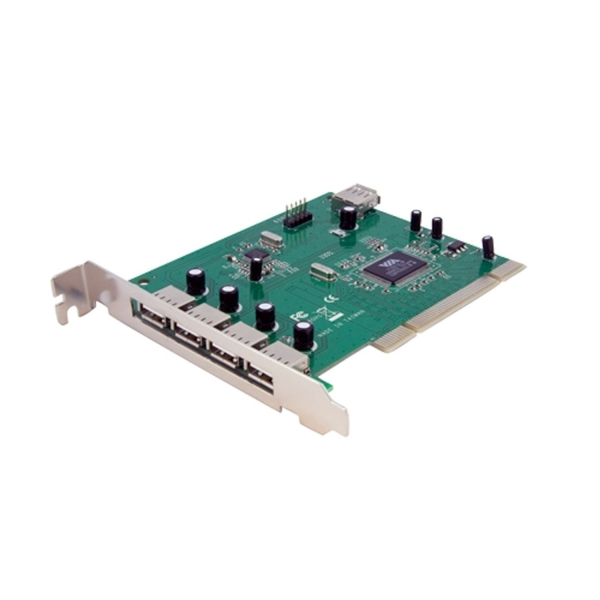 Startech 7 Port (4 External, 3 Internal) PCI USB Card Adapter