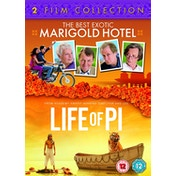 The Best Exotic Marigold Hotel / Life of Pi DVD (Two Film Collection)