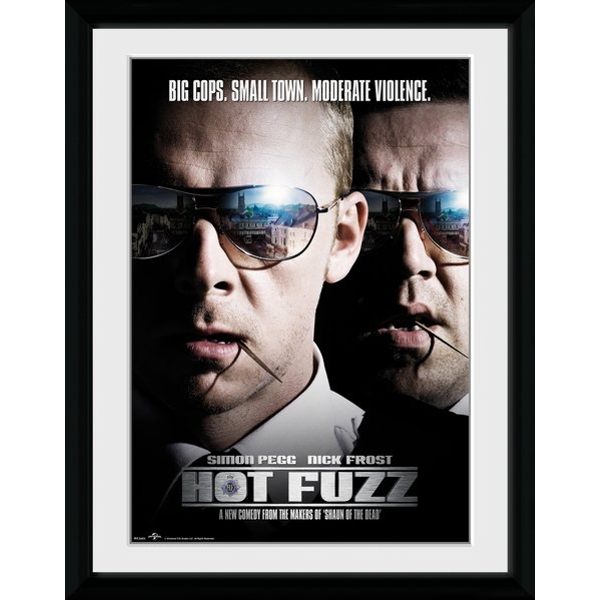 Hot Fuzz Close Up Collector Print - Image 1