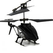 RC Helicopter Gyro Flyer Black
