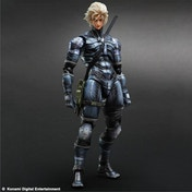 Metal Gear Solid 2 Sons of Liberty Raiden Play Arts KAI Action Figure