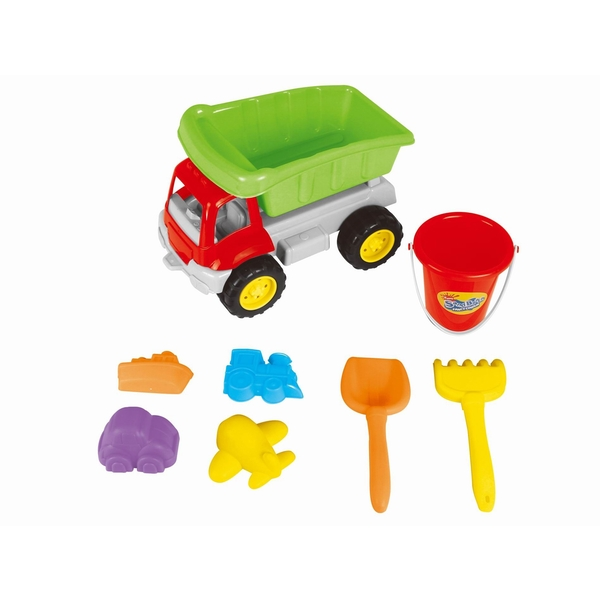 Dumper Truck Beach Playset