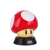 Red Level-Up Mushroom (Super Mario Bros) 3D Character Light