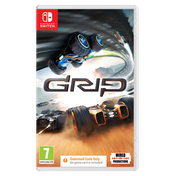 GRIP Combat Racing Nintendo Switch Game [Download Code In A Box]