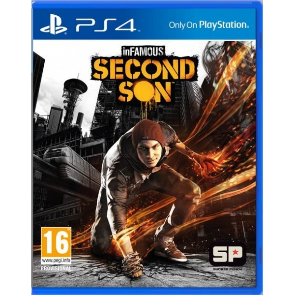 inFamous Second Son Game PS4