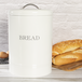 Bread Bin Crock Storage Canister Jar | M&W White - Image 2
