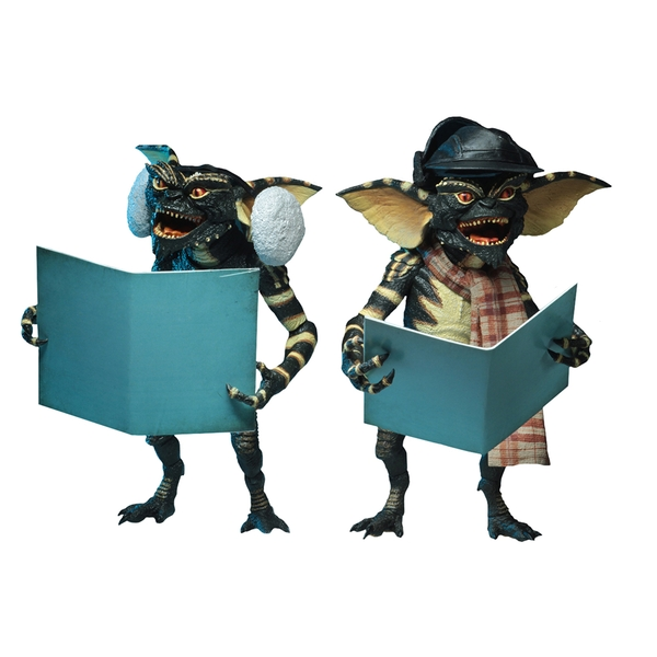 Gremlins Christmas Carol Winter Scene (Pack 2) Neca Action Figure 2 Pack