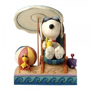 Snoopy and Woodstock Beach Buddies (Peanuts) Jim Shore Figurine