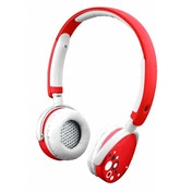 Kurio Kids Safe Headphones with Sound Level Limiter 3.5mm Jack -  Red