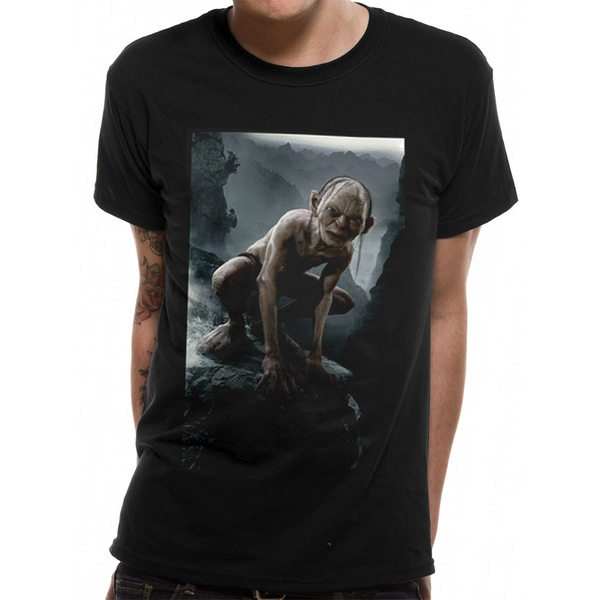 Lord Of The Rings - Gollum Men's Small T-Shirt - Black