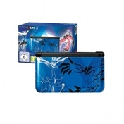 Limited Edition 3DS XL Pokemon Console Blue + Pokemon X Game 3DS