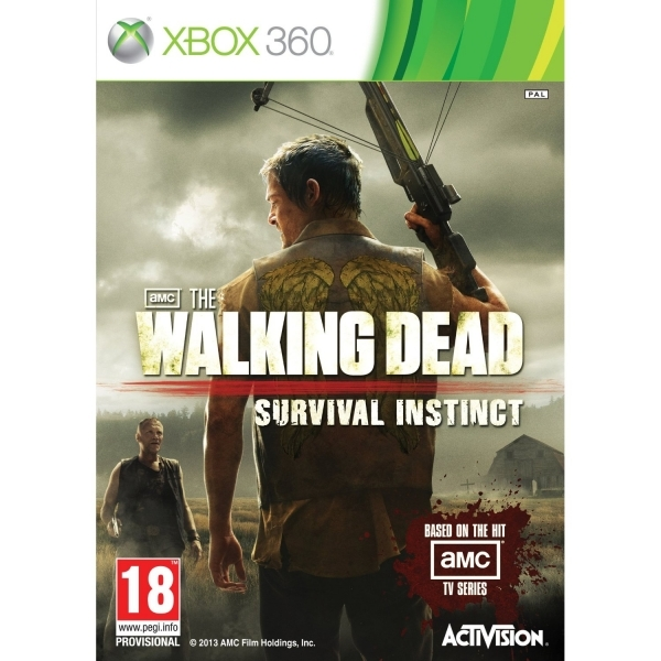 The Walking Dead Survival Instinct Game Xbox 360