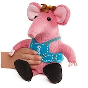 Small Clanger (Clangers) Squeeze and Whistle Soft Toy