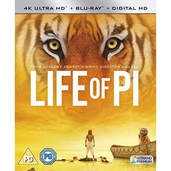 Life Of Pi 4KUHD   Blu-ray